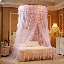 TYMX Princess Bed Canopy Mosquito Net Luxury Dome Luminous Butterfly Bed Tents Diameter 1.2M...