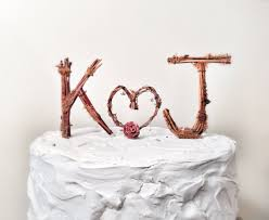 monogrammed wedding cakes. image of: monogrammed wedding cake toppers cakes
