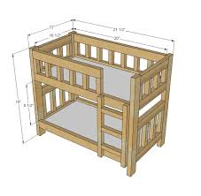 diy bedroom furniture kits. free american doll bunk bed plan workshop projects and plans diy bedroom furniture kits b