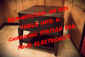 Make Charging Station Easy Diy End Table Charging Station Clear The Clutter Get