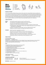 8 Cv Format Nursing Theorynpractice