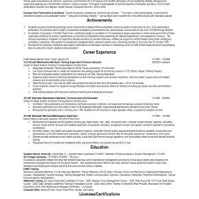 Reserve Officer Sample Resume Enchanting Resume Air Force Resume Examples Template New Samples Skills
