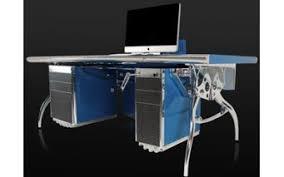 High office desk Workstation Bugatti Grand Prix Car Desk Euro Living Furniture 20 Hightech Office Desks