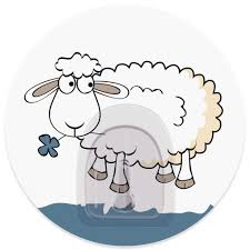 "<b>Крючок адгезивный Tatkraft</b> ""<b>Funny</b> Sheep. Bella"", диаметр 8 см ..."