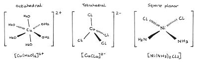 Image result for transition metal complex