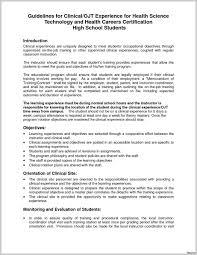 Career Objective Cv Letter For Ojt Hrm Students Sample Skills In Career