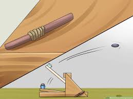 Small Catapult Design How To Build A Strong Catapult Wikihow