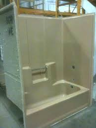 1 piece tub shower combo one piece shower tub one piece shower one piece tub and