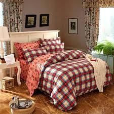 red plaid duvet covers best cabin bedroom images on cabin bedrooms for plaid duvet covers king
