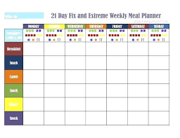 Meal Planning Spreadsheet Excel Printable Weekly Meal Planner Template Free For Planning