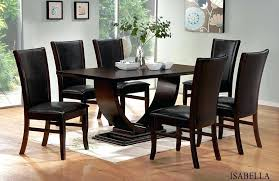 black and wood dining table pact small square dining table with colorful decoration clic black wooden