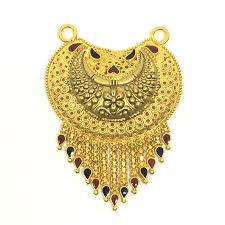 curve gold mangalsutra pendant product