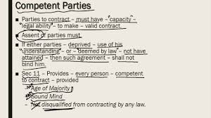 Valid Contract Essential Elements Essential elements of valid contract detailed explanation YouTube 1