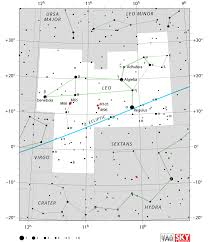 Star Chart Without Constellations Leo Constellation Facts Location Mythology Stars