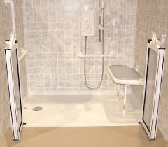 Handicap Bath Tubs And Showers Handicap Showers ADA Barrier - Handicap bathroom