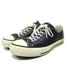 converse converse all star leather j ox all stars leather sneakers 27 navy