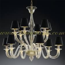 murano glass chandelier shiva