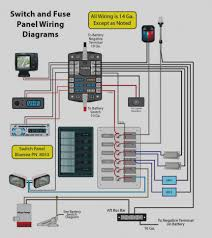 elegant bus bar wiring diagram for a switch panel and page 1 inside boat