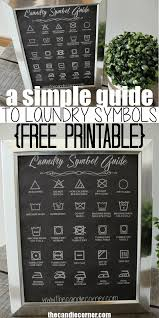 Commercial Laundry Design Guide A Simple Guide To Laundry Symbols Free Printable