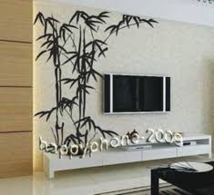 Small Picture Free Shipping Chinese Bamboo Mural Home Decor Decals Decorative