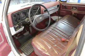 the interior of the c10 was pretty tore up when i purchased the truck the