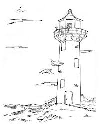 Small Picture Printable A Lighthouse Coloring Coloring Pages