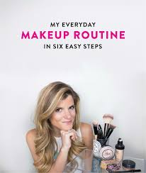 beauty everyday makeup routine