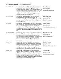 inspiration babysitting resume examples medium size inspiration babysitting  resume examples large size