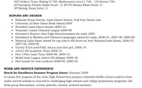 Example High School Resume College Application Unusual Sample Studente For College Application Best Format Examples 15