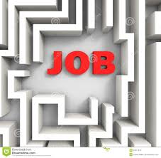 job in maze shows finding jobs royalty stock photo image job in maze shows finding jobs