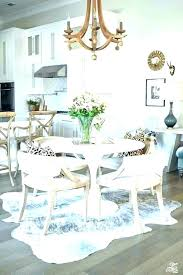what size rug for dining table rug under kitchen table size round rug for under kitchen