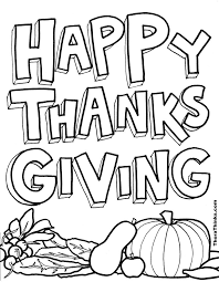 Small Picture Thanksgiving Clipart To Color Collection Coloring Coloring Pages