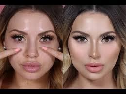 fake a nose job with contouring jadeywadey180