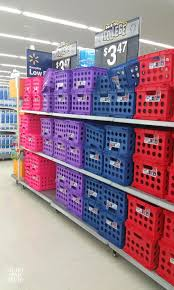 what can you do with a milk crate or storage crates