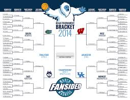 Ncaa Tournament Bracket Scores Updated 2014 Ncaa Tournament Bracket Final Four Set