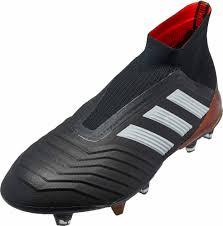 adidas predator 18 fg black solar red