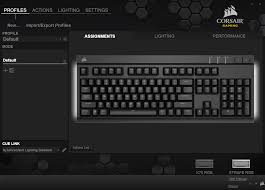 Lighting Cue Software The Software Corsair Utility Engine Cue The Corsair