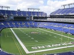 2 Club Level Tickets Arizona Cardinals At Baltimore Ravens