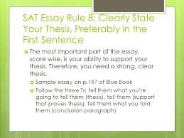 New SAT Essay Scoring Rubric   Kaplan Test Prep Sat writing essay score