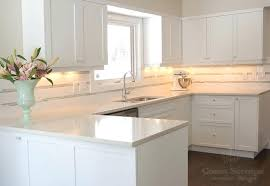 kitchen white quartz countertop updated contemporary kitchen