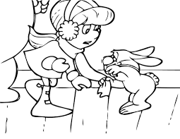 Karen And Hocus Focus Coloring Page