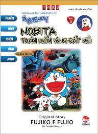 Doraemon - Phiên Bản Điện Ảnh Màu - Ấn Bản Đầy Đủ Tập 4: Nobita Thám Hiểm  Vùng Đất Mới (Tái Bản 2020) | Nhà sách Fahasa
