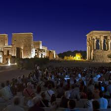 Sound And Light Show Philae Temple Philae Sound And Lights Show Aswan Trip To Egypt