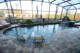Backyard Swimming Pool Designs Cool The Pro's And Con's Of Pool Enclosures In Florida
