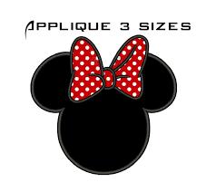 Safari Mickey Applique Design Minnie Mouse Head Embroidery Design Minnie Mouse Disney