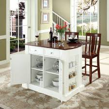 Great For Small Kitchens Alluring Mobile Kitchen Islands With Seating Great Small Kitchen