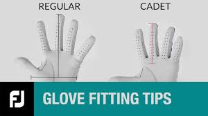 Golf Glove Hand Size Chart Are You Wearing The Right Size Glove Australian Golf Digest