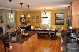 kitchen and dining room lighting. Dining Room Kitchen And Lighting Ideas Small Combo Designs O
