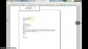 Personal Business Letter Youtube