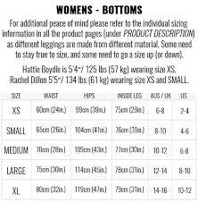Lululemon Sizing Chart Tops Size Chart Muscle Nation